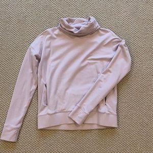 lululemon cowl/turtleneck sweatshirt